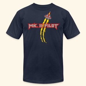 Mk. II Pilot (silver) - Men's T-Shirt by American Apparel