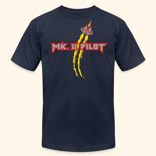 Mk. II Pilot (silver) - Men's Fine Jersey T-Shirt