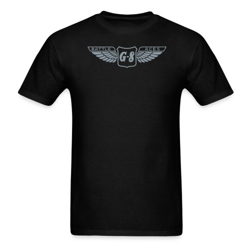 G-8 Wings Metallic Tee (M) - Men's T-Shirt