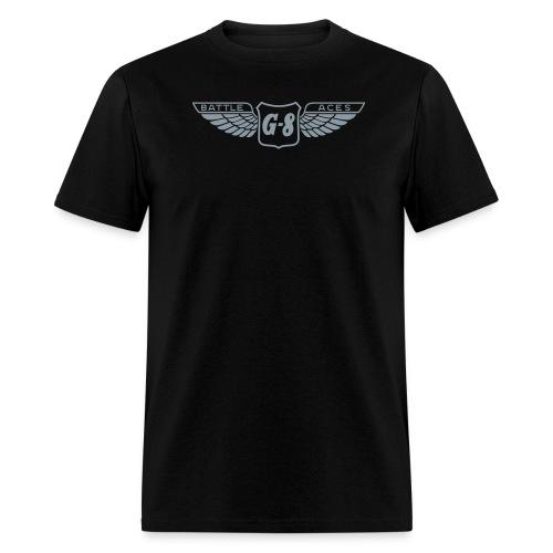 G-8 Wings Metallic Tee (M) - Men's T-Shirt