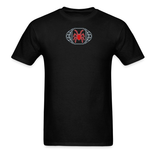 The Spider Ring Metallic Tee (M) - Men's T-Shirt