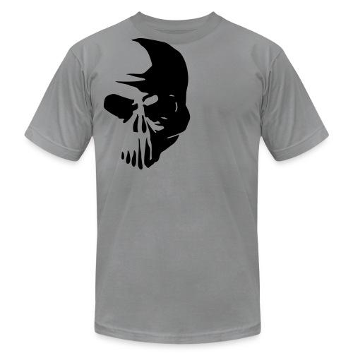 Half Skull - Men's Fine Jersey T-Shirt