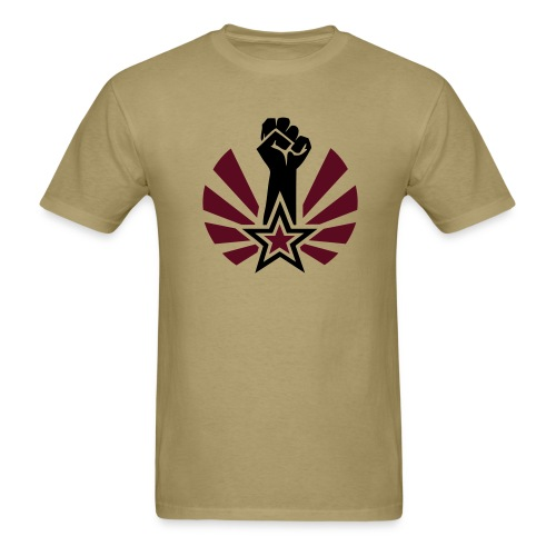 Raised & Clenched Fist T-Shirt - Men's T-Shirt