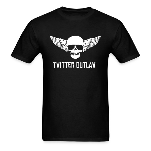 Twitter Outlaw - Men's T-Shirt