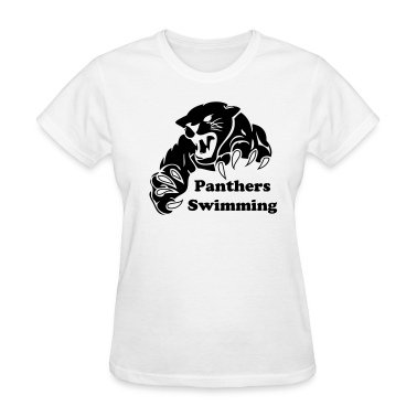 White Panther Custom Team Graphic Women 39 S T Shirts T Shirt