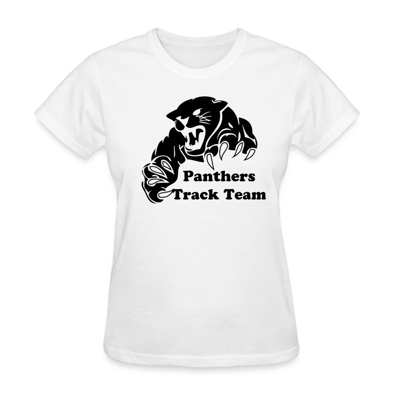 Panther custom team graphic t shirt spreadshirt for Custom graphic design t shirts