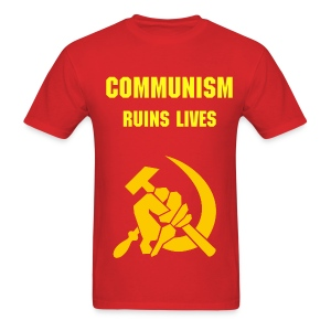 when wearing a communist Tee is socially unacceptable, this is the next best thing. - Men's T-Shirt