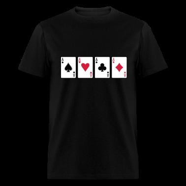 Black Aces T-Shirts