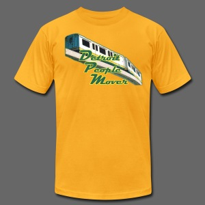 Detroit People Mover men's American Apparel Tee - Men's T-Shirt by American Apparel