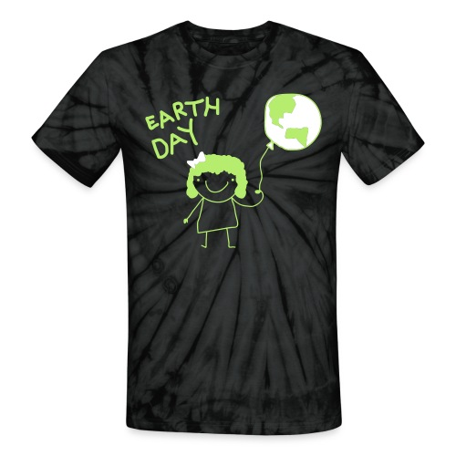 Earth Day - Unisex Tie Dye T-Shirt