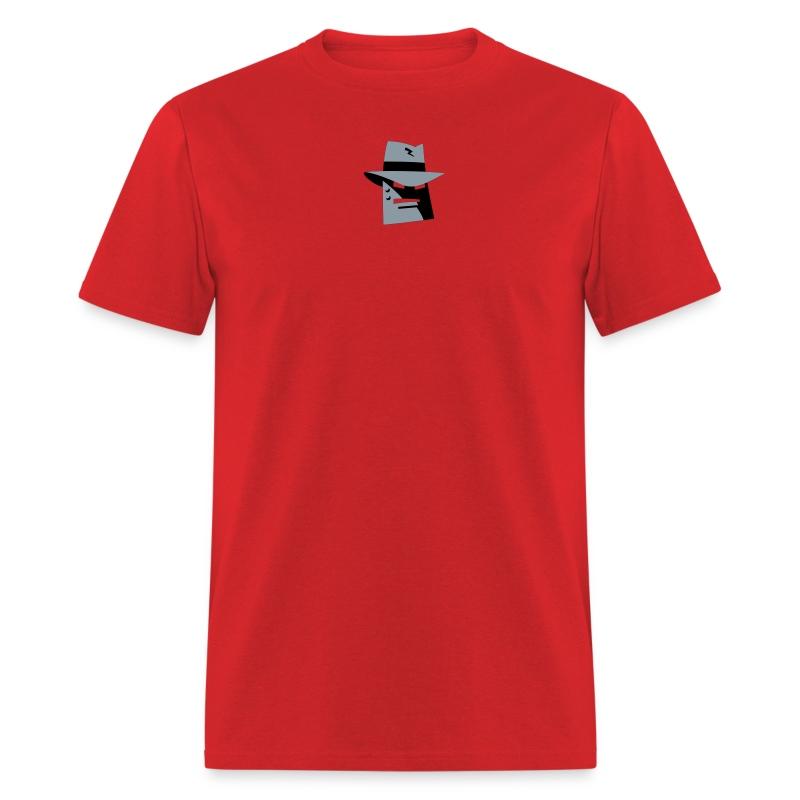 Robot Gangster Metallic Tee (M) - Men's T-Shirt