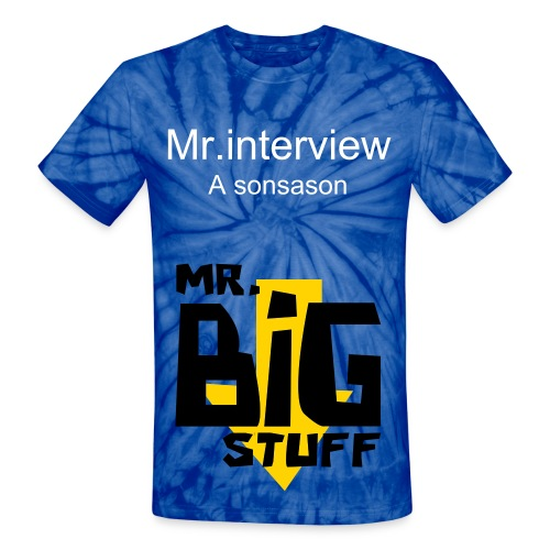 Mr.interview - Unisex Tie Dye T-Shirt