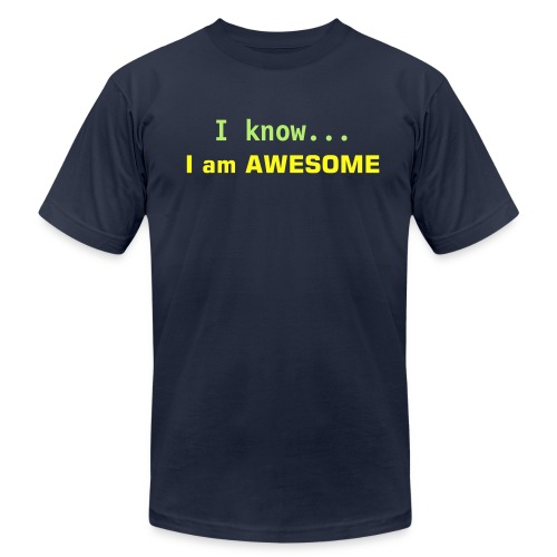Awesome - Men's Fine Jersey T-Shirt