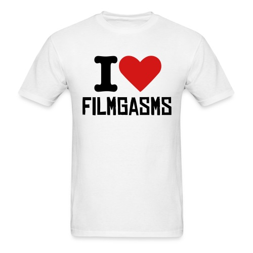 Men Love Filmgasms - Men's T-Shirt