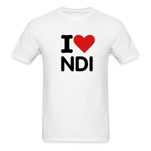 Men Love NDI - Men's T-Shirt