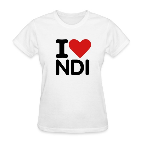Women Love NDI - Women's T-Shirt