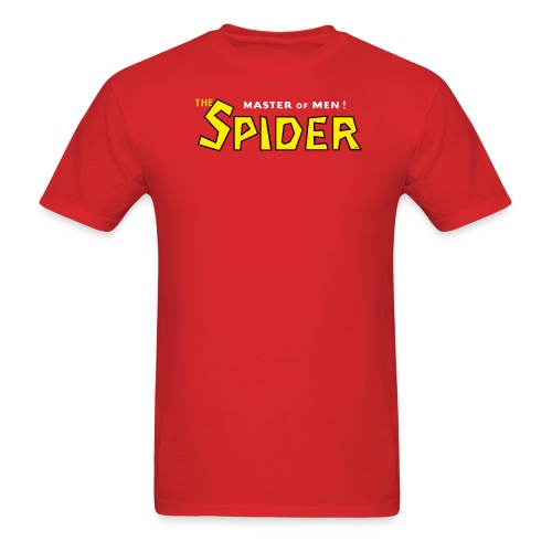 The Spider Logo Red Tee (M) - Men's T-Shirt