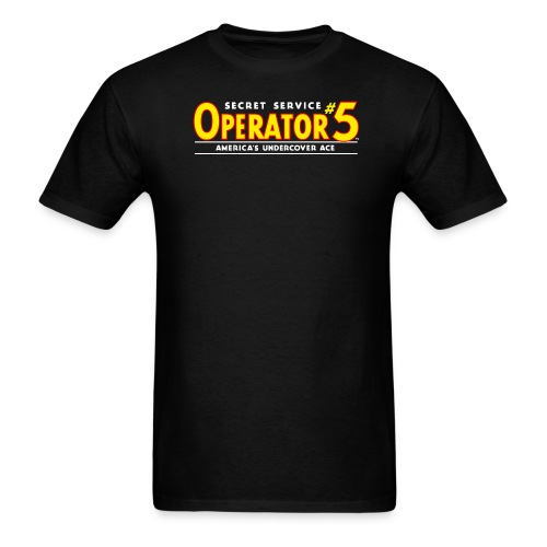 Operator 5 Logo 1936 Tee (M) - Men's T-Shirt