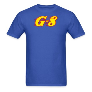 G-8 Yellow Logo Tee (M) - Men's T-Shirt