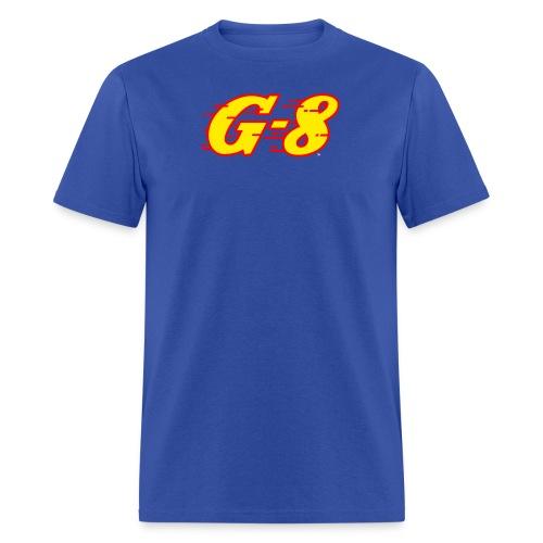 G-8 Yellow Logo Tee (M) - Men's T-Shirt
