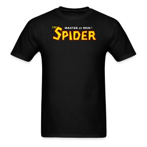 The Spider Logo Black Tee (M) - Men's T-Shirt