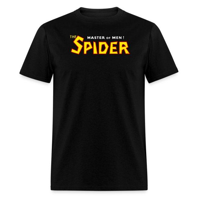 The Spider Logo Black Tee (M)