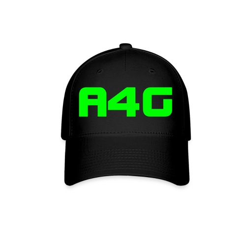 A4G Simple Hat with Green ink - Baseball Cap