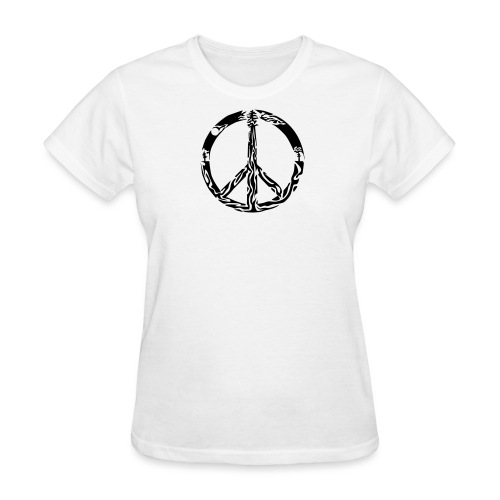 peace root - Women's T-Shirt