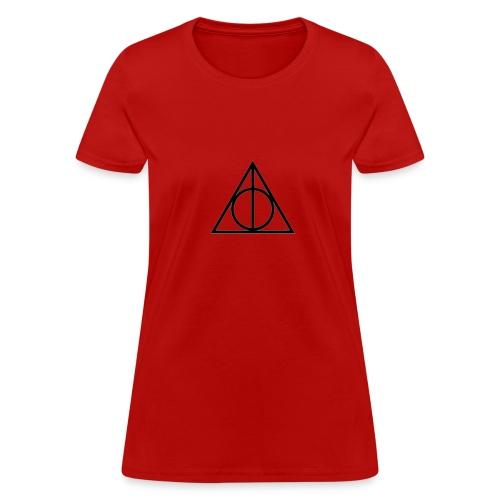 deathly hallows symbol shirt - Women's T-Shirt