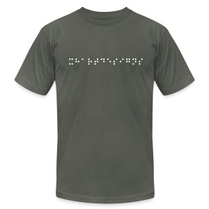 Braille - Men's Fine Jersey T-Shirt