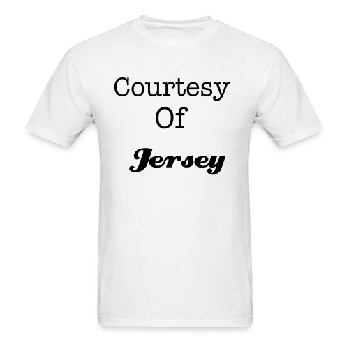 Courtesy of Jersey Promo - Men's T-Shirt