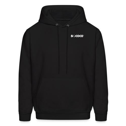 Hooded Sweatshirt - Together Now. on Back - Men's Hoodie