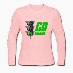 Chocolate Go Green Light Long Sleeve Shirts