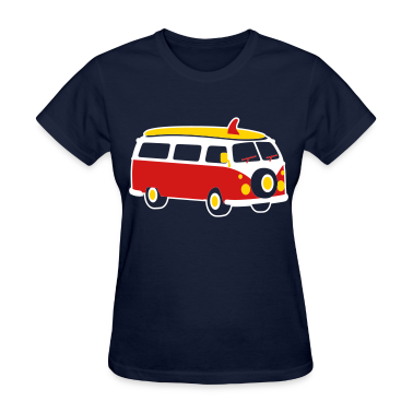 Navy Van Women's T-Shirts