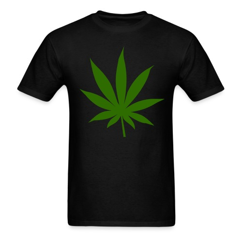 Marijuana Leaf T-Shirt - Men's T-Shirt