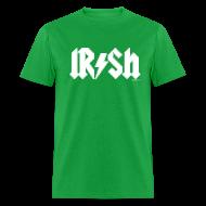 T-Shirts ~ Men's T-Shirt ~ Irish Pride AC/DC Logo