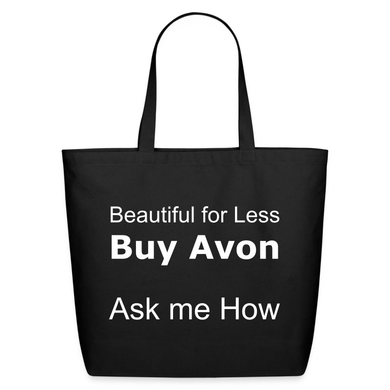 Beautiful for Less! Buy Avon - Eco-Friendly Cotton Tote