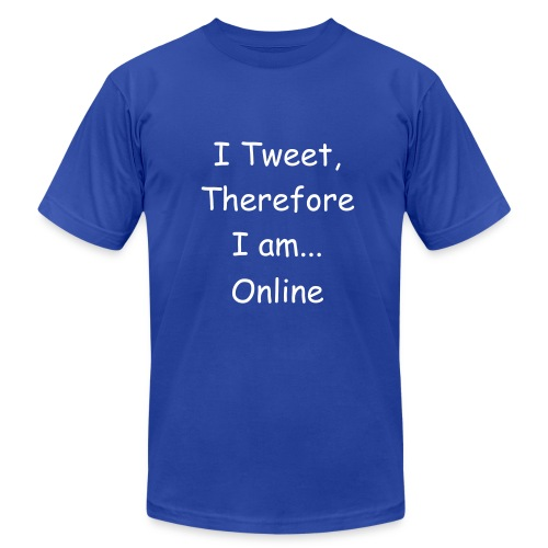 Therefore I Am - Men's Fine Jersey T-Shirt