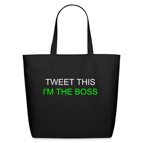 Twitter Shirt - Eco-Friendly Cotton Tote