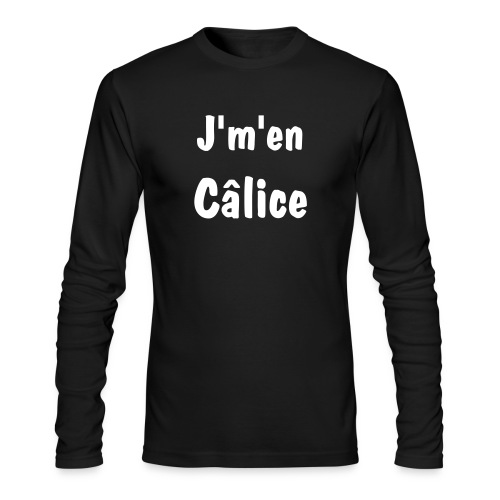 J'm'en câlice - Men's Long Sleeve T-Shirt by Next Level