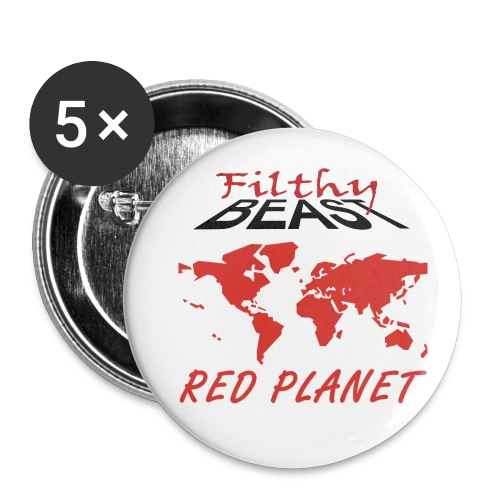 Filthy Beast Red Planet - Small Buttons