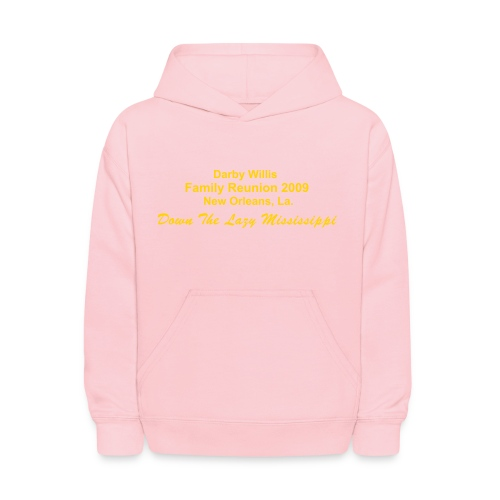 Darby Willis Family Reunion 2009 Kid's Hooded Sweatshirt - Kids' Hoodie