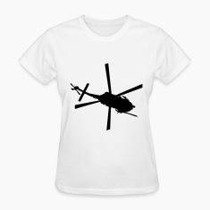 White Helicopter Women's T-Shirts