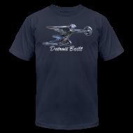 T-Shirts ~ Men's T-Shirt by American Apparel ~ Detroit Built Packard Hood Ornament Hood Ornament Men's American Apparel Tee