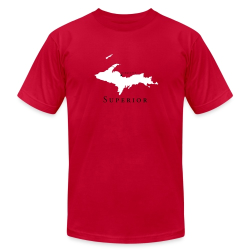 The State of Superior - Men's Fine Jersey T-Shirt