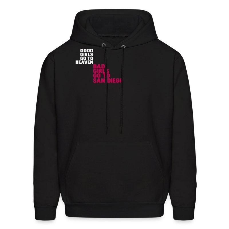 Black bad girls go to san diego hoodies men s hoodie