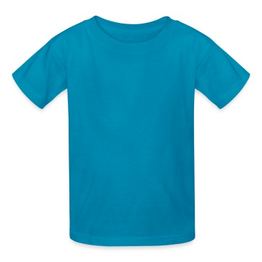 Orange NAVY STENCIL Kids' Shirts