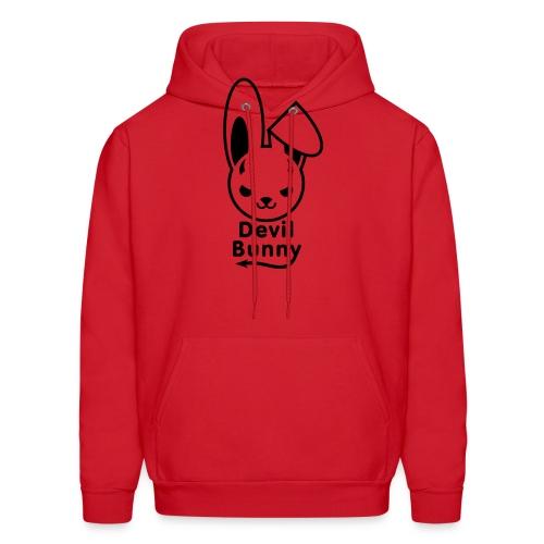 Devil Bunny - Men's Hoodie