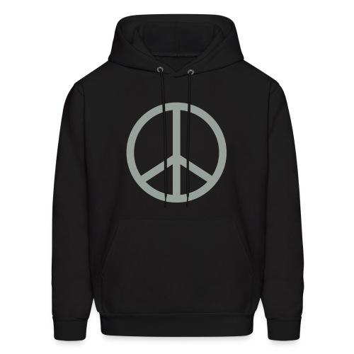 Peace Dudes Black Hoodie - Men's Hoodie
