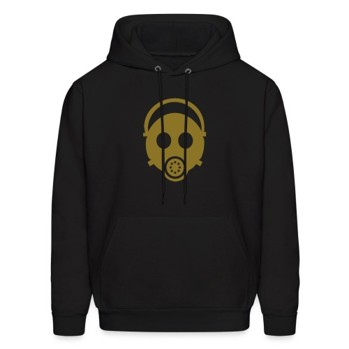 Hooded Sweatshirt (Gas mask) - Men's Hoodie